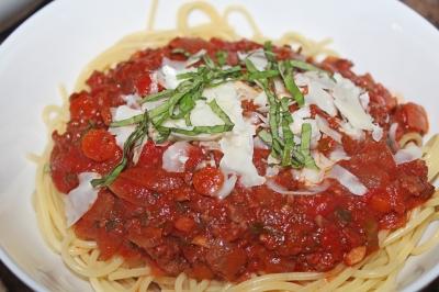 Two-Timing Spaghetti Sauce