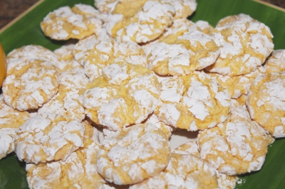 Lemon Crackle Cookies