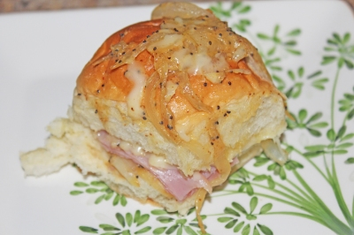 King's Hawaiian Ham and Swiss Sliders - The Not So Desperate Chef Wife