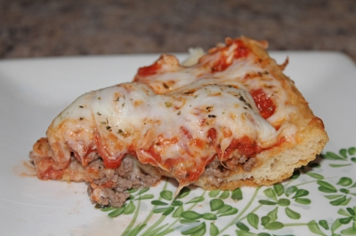 Lasagna Pie Slice