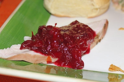 Cranberry Pomegranate Relish - The Not So Desperate Chef Wife