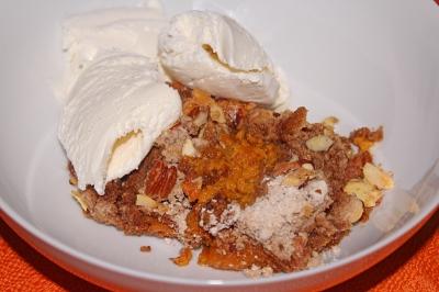 Pumpkin Crisp - The Not So Desperate Chef Wife