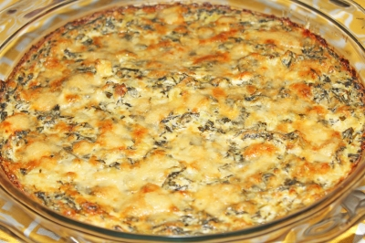 Spinach and Artichoke Dip - #TheNotSoDesperateChefWife