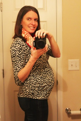 Week 26 Belly Update - The Not So Desperate Chef Wife