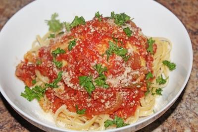 Chicken Cacciatore - The Not So Desperate Chef Wife