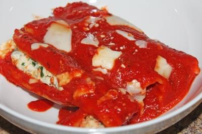 Chicken Manicotti - The Not So Desperate Chef Wife